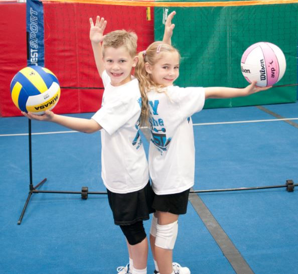 Volleyball Full Day Summer Camp Wk1