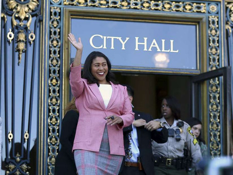 SF Mayor-elect London Breed lays out timeline for resigning board presidency