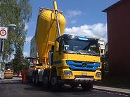 Silothermo für Belagtransporte