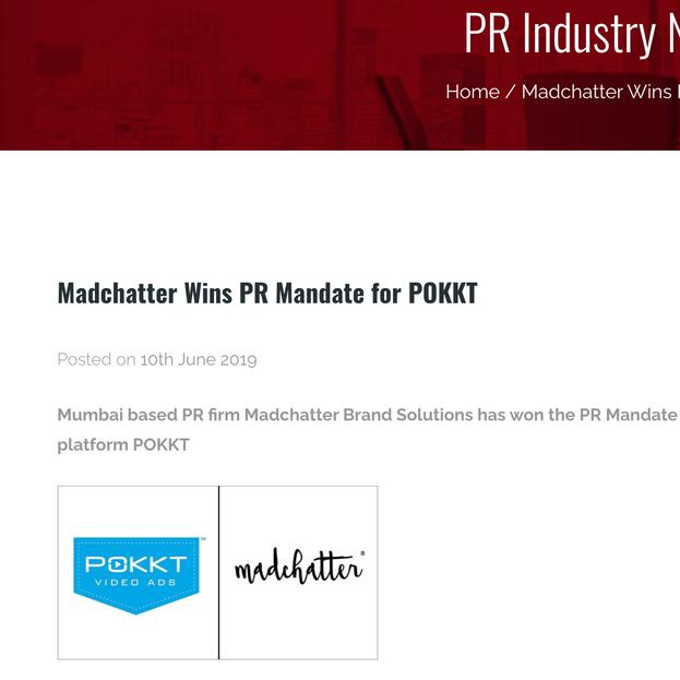 PR Industry News