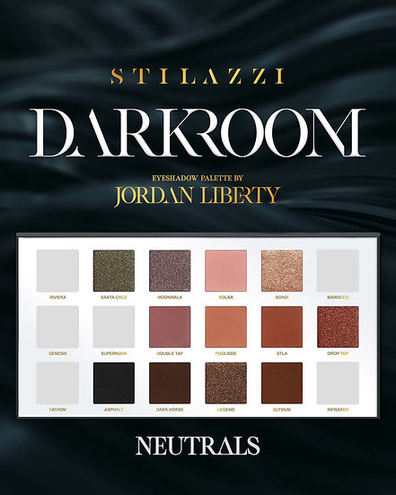 Stilazzi DARKROOM Eyeshadow Palette by Jordan Liberty