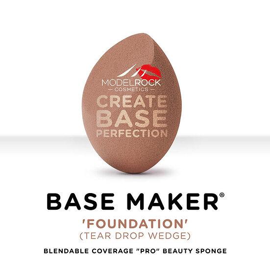 Base Maker® - Single Sponge - 'FOUNDATION' (Warm Taupe 1/4 Wedge)