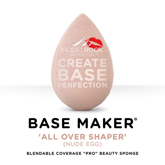 Base Maker® - Single Sponge - 'ALL OVER SHAPER' (Nude Egg)