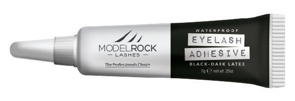 MODELROCK - Lash Adhesive 7gm Waterproof BLACK/DARK 'Latex'