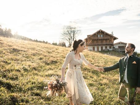 Hochzeit im Herbst - Wunderschöne Farben beim Styled Shooting