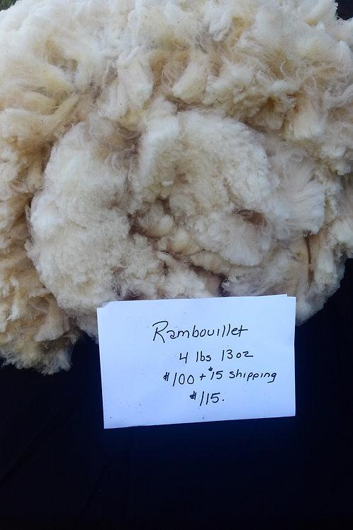 Fine Rambouillet Wool Fleece