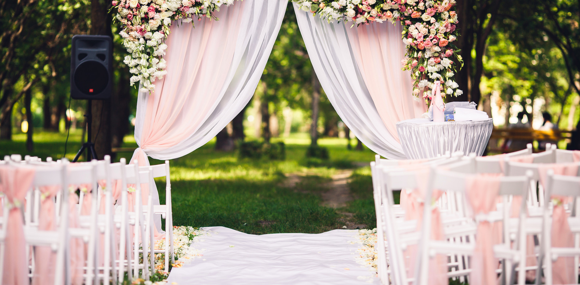 Wedding Arch with Florals
