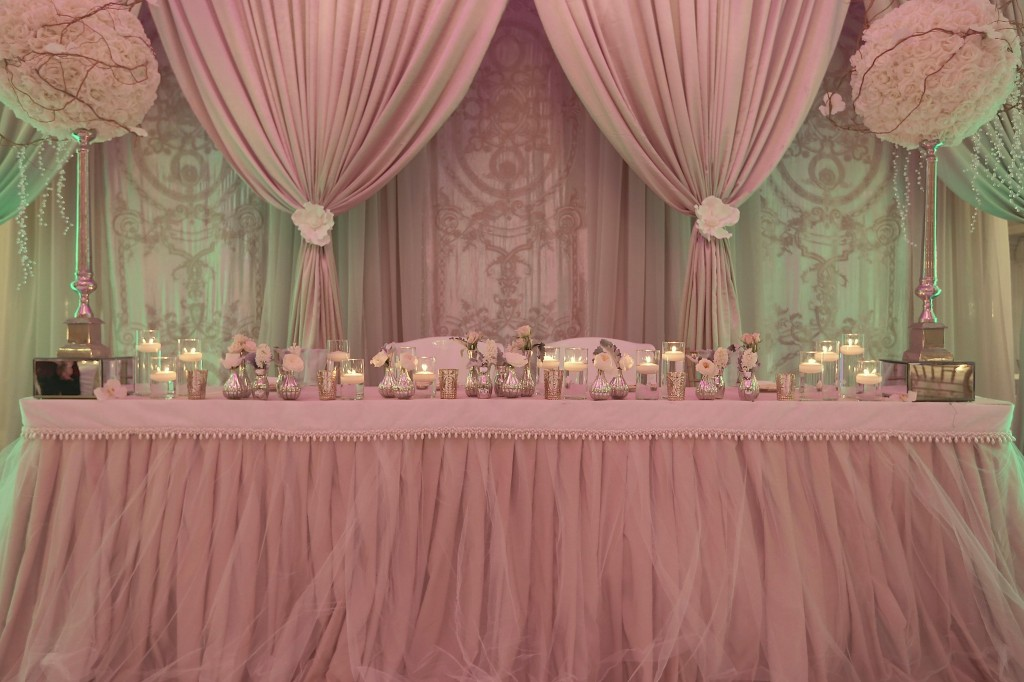 Pink Blush Wedding Backdrop