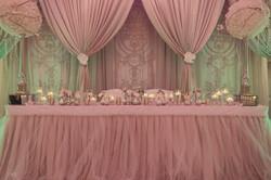 Pink Blush Wedding Backdrop