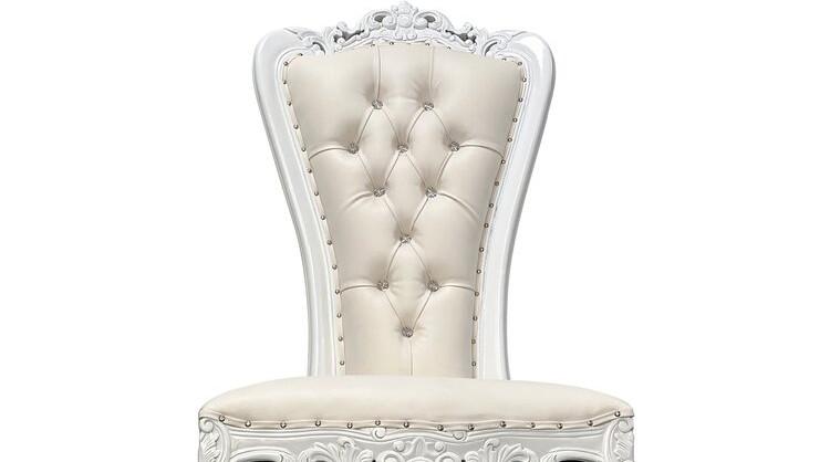 White Arm Chair