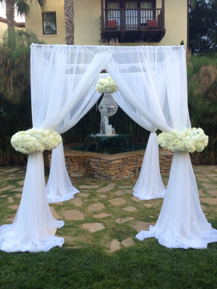Scraf Wedding Chuppah