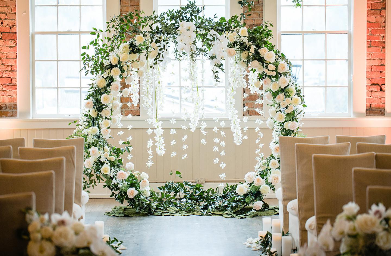 Circular Arch & Flowers