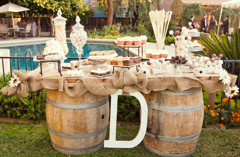 Rustic Candy/Sweet Table