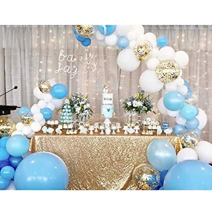 Balloon & Table Setup