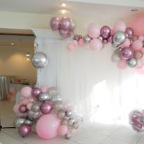 Balloons & Backdrop