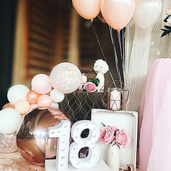 Happy Birthday Simple Balloons