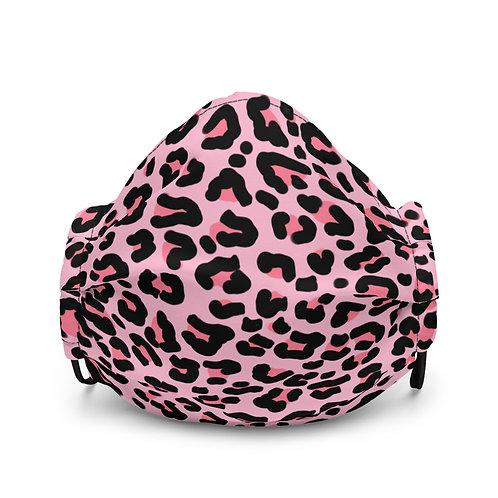 Cheetah Face Mask (Pink)