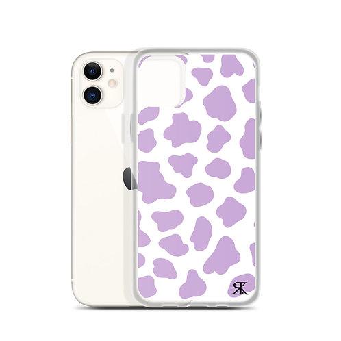 Moo Print Case (Purple)