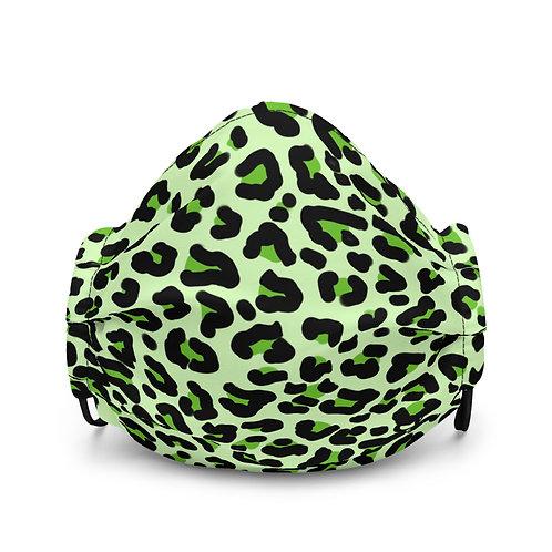 Cheetah Face Mask (Green)