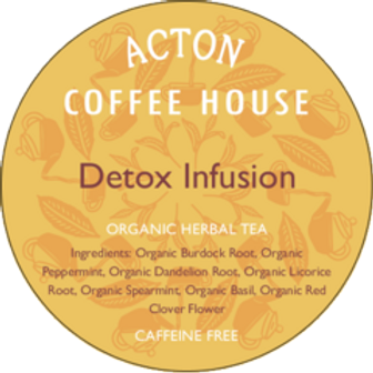Detox Infusion Herbal Tea by ounce