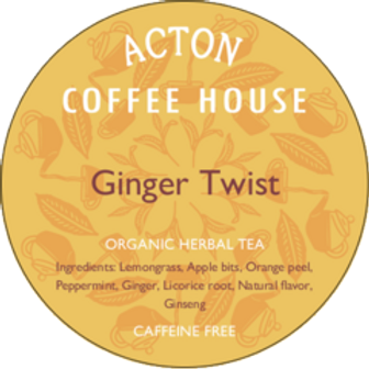 Ginger Twist Herbal Tea by ounce