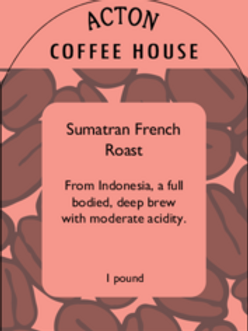 Sumatran French Roast