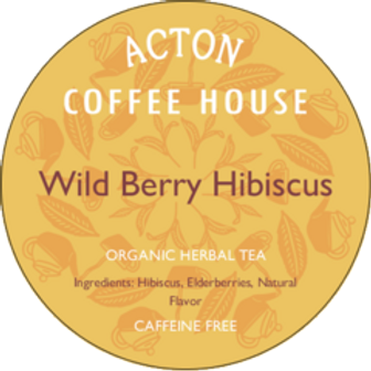 Wild Berry Hibiscus Herbal Tea by ounce