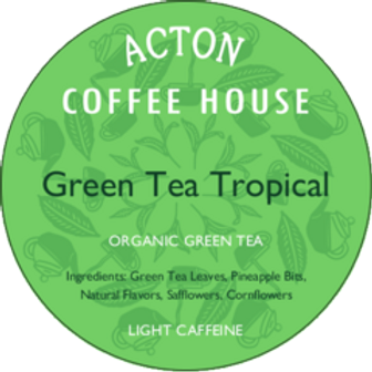 Green Tea Tropical by ounce