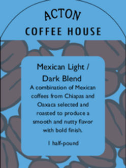 Mexican Light/Dark Blend