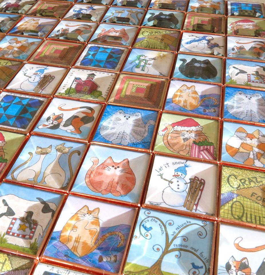 Carla Binder Folk Art Pins