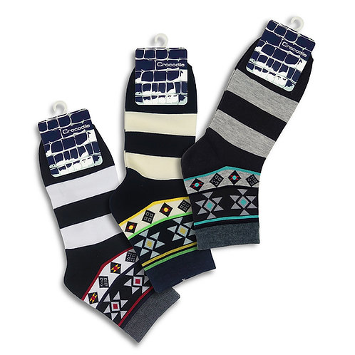 CROCODILE 3pairs Socks63121095-99