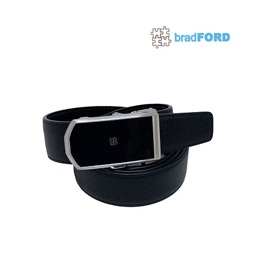 bradFORD Auto Lock Buckle Genuine Leather Mens Belt