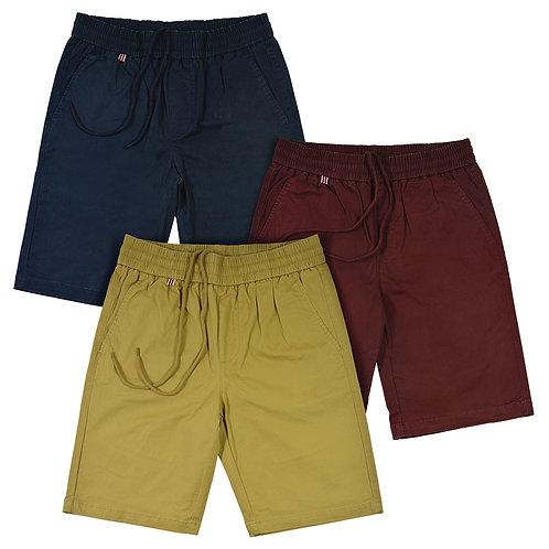 Men's Elastic Waist Band Shorts