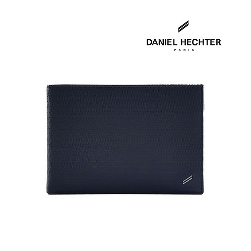 Daniel Hechter Genuine Leather RFID Bi-Fold Passport / Wallet