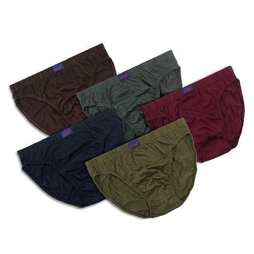 Crocodile 5-Pcs Iconic Basic Men's Underwear