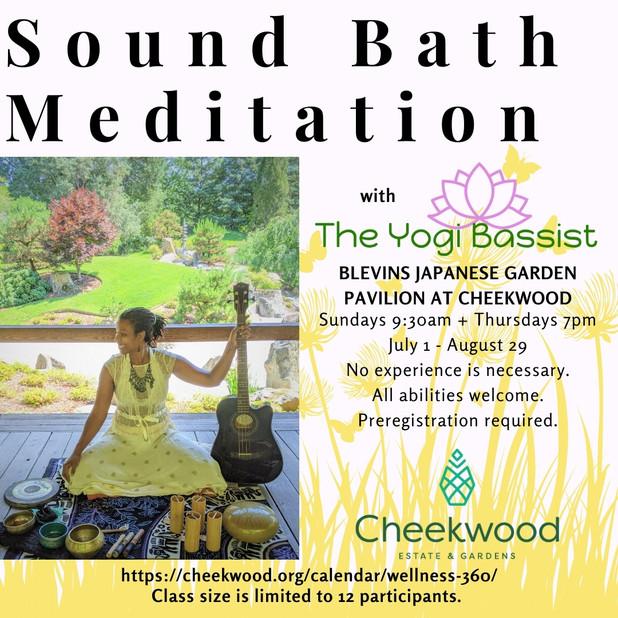 Outdoor Sound Bath Meditation