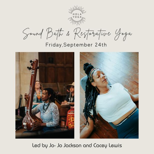 Sound Bath + Restorative Yoga