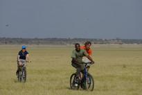biking in tanzania