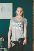 Haylo Indigo Designer Office T-Shirts