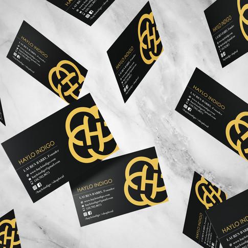 Haylo Indigo Business Card
