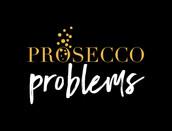 """Prosecco Problems"" Haylo Indigo Design T-shirt"