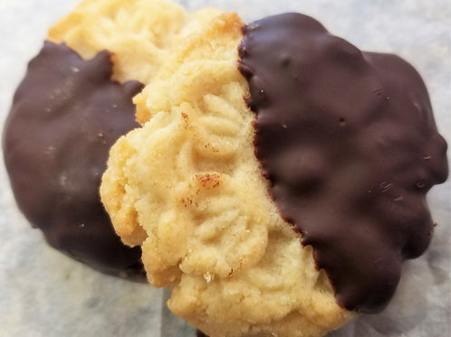 Shortbread Cookies Half Dipped(6)