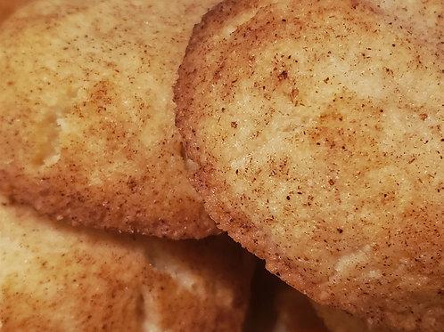 Pumpkin Spice Snickerdoodle Cookies (6)
