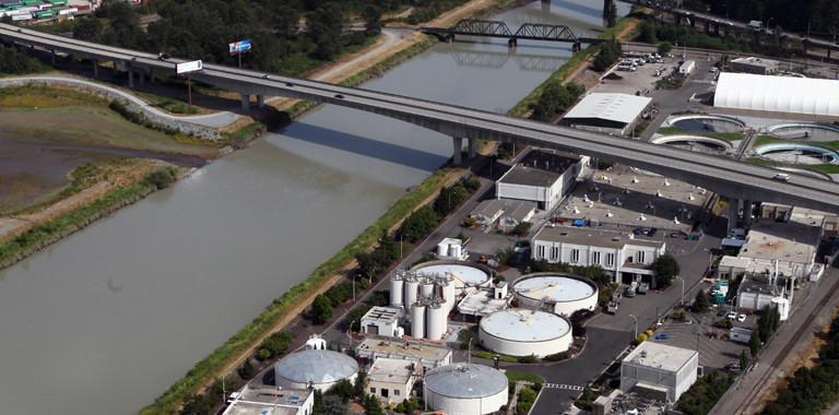 Tacoma Water Treatment Plant