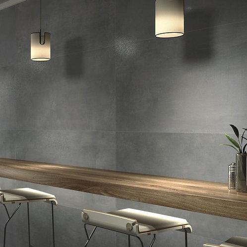 Abstraphite keramische betonlook 80x80 RTT grote vloertegels / wandtegels