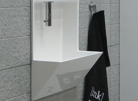 Deze geniale fontein voor je toilet bespaart ruimte (en ziet er ook nog eens ontzettend gaaf uit)