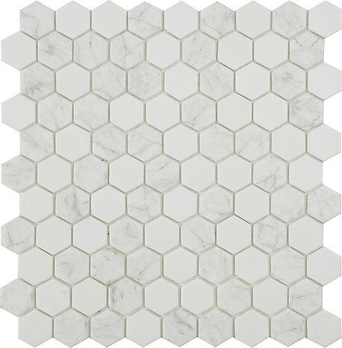 Antarctica Flake hexagon glasmozaïek 35X35MM tegels