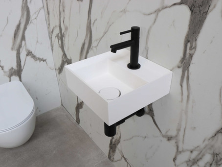 Zwart staal in je Scandinavische toilet