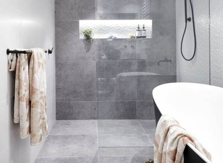 13 keer betonlook badkamer, toilet en tegels inspiratie