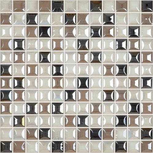 Edna Elegant Blend glasmozaïek 25X25MM tegels